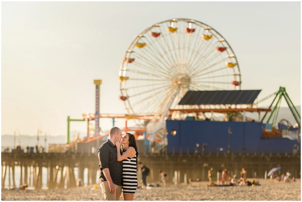 Santa Monica Pier Engagement Photography LA Photographer (6)