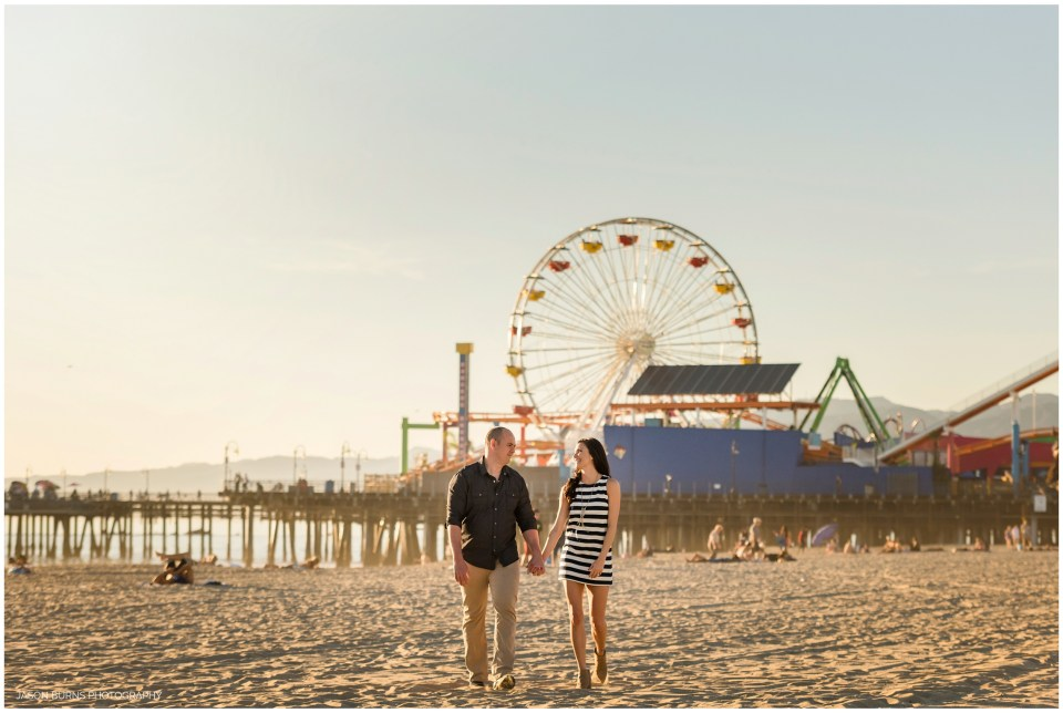 Santa Monica Pier Engagement Photography LA Photographer (7)
