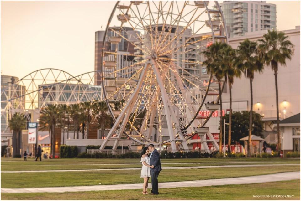 Long Beach Engagement Shoreline Village 07
