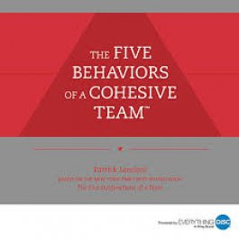 Five Behaviors of A Cohesive Team Assessment and Consultation
