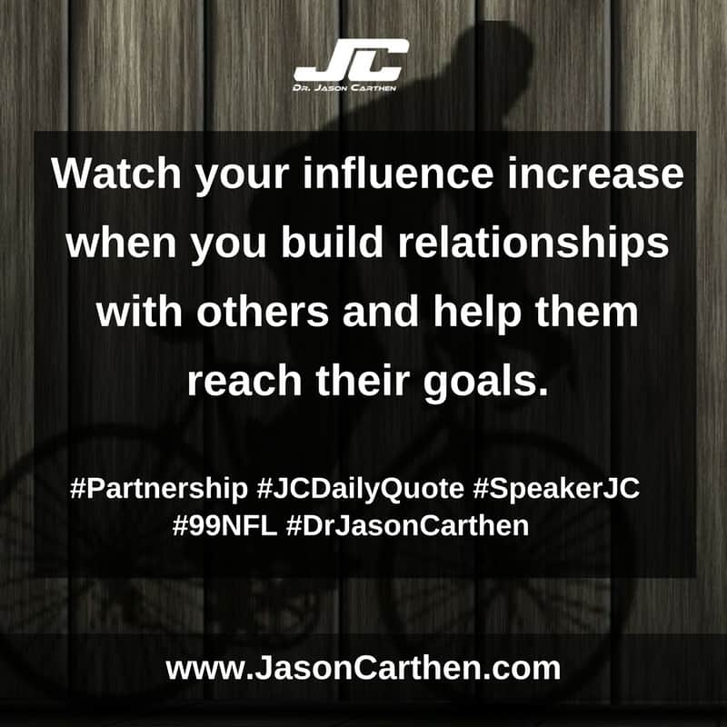 Dr. Jason Carthen: Partnership