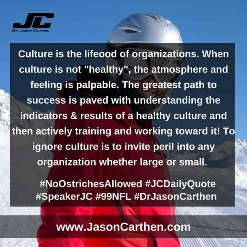Dr. Jason Carthen: No Ostriches Allowed