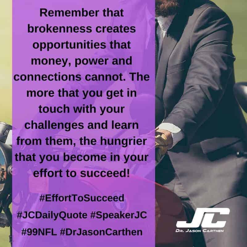 Dr. Jason Carthen: Effort To Succeed