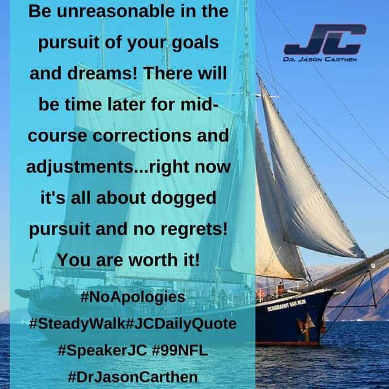 Dr. Jason Carthen: No Apologies