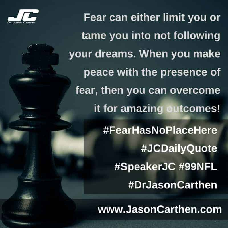 Dr. Jason Carthen: FearHasNoPlaceHere