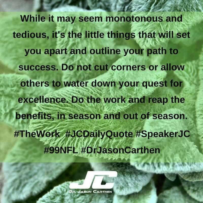 Dr. Jason Carthen: The Work