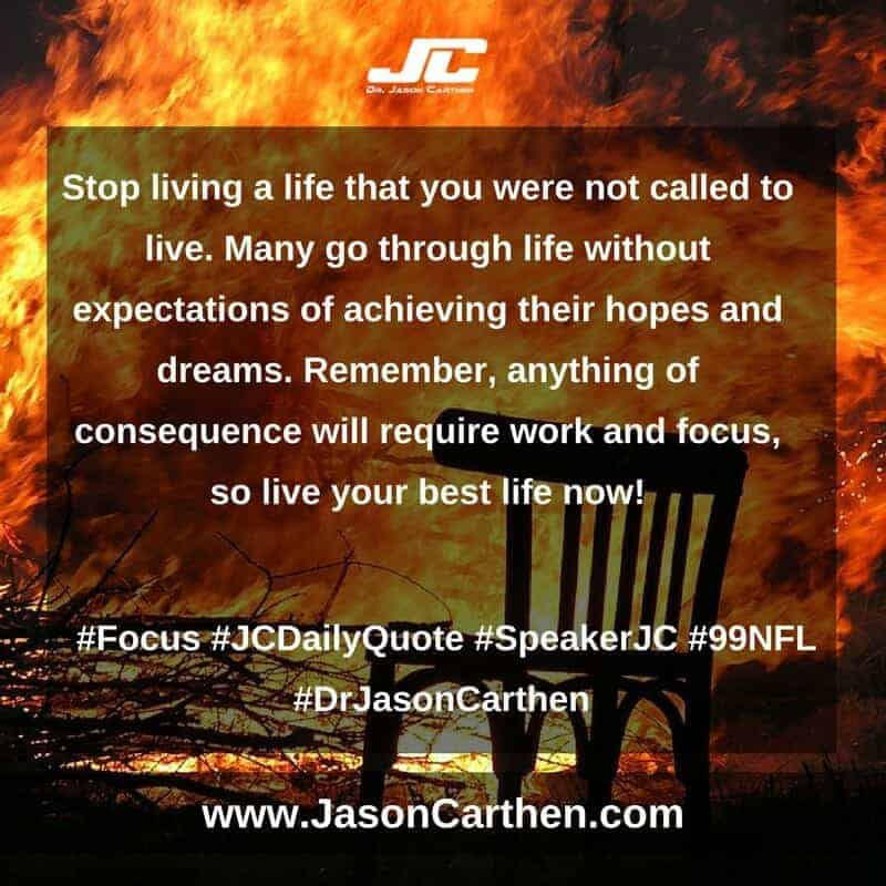 Dr. Jason Carthen: Focus