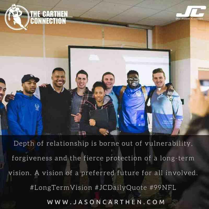 Dr. Jason Carthen: Relationship