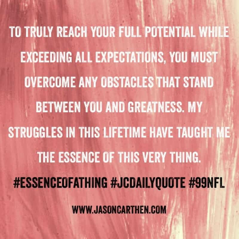 Dr. Jason Carthen: Daily Quote_Obstacle