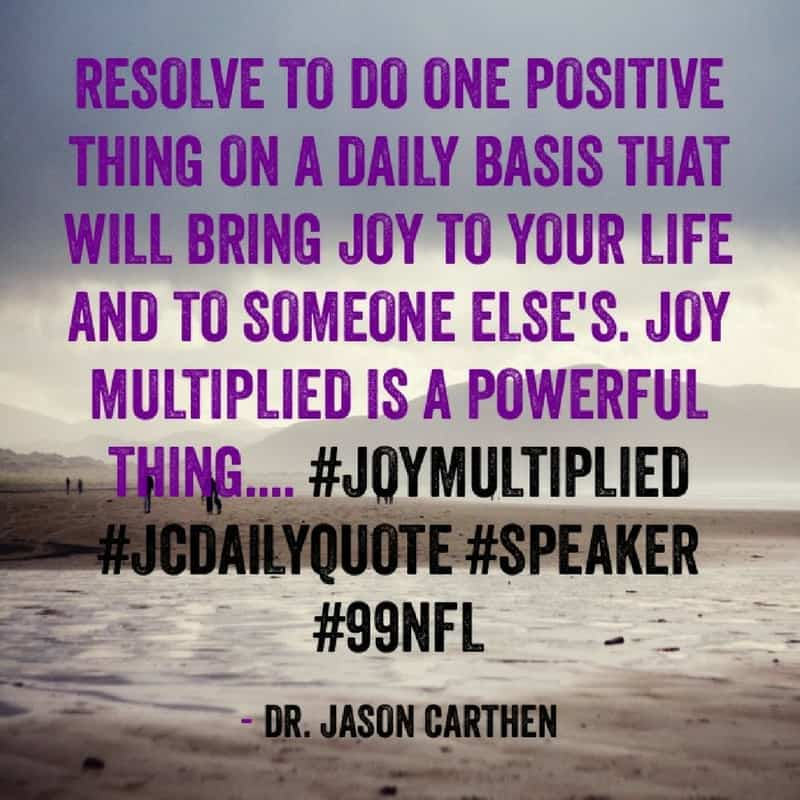 Dr. Jason Carthen: Resolve