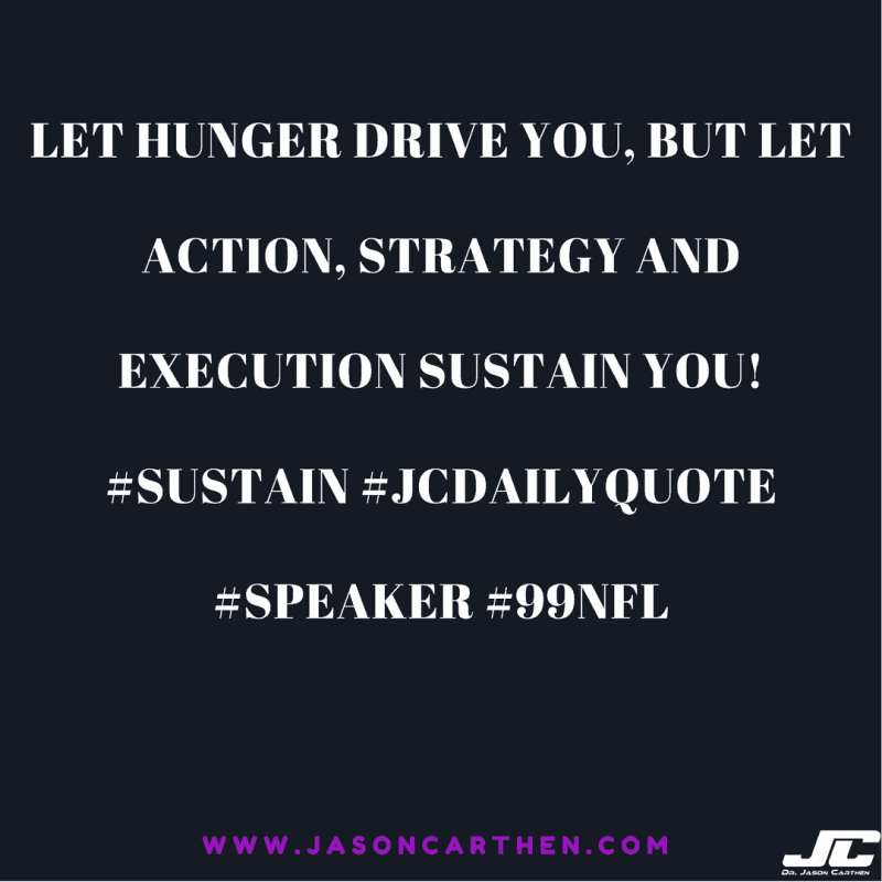 Dr. Jason Carthen: Hunger