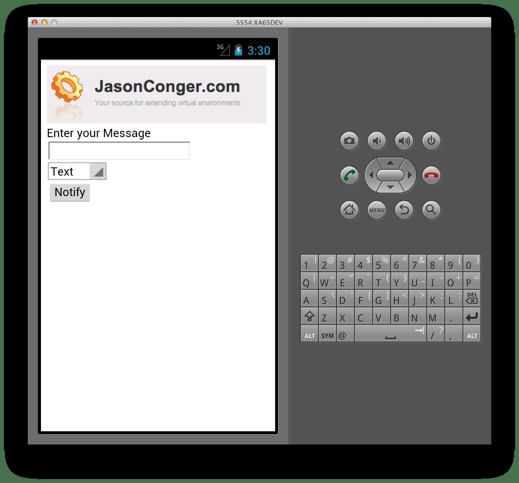 Mobile app, iPhone, Android, PhoneGap, Desktop Virtualiztion