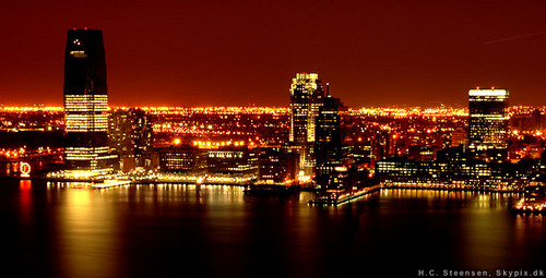 City, New York skyline