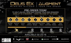 Deus Ex:Mankind Divided preorder
