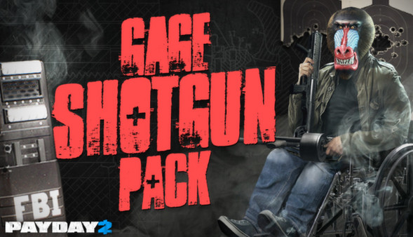JasonDarkX2 |Payday 2 Gage shotgun Pack Review