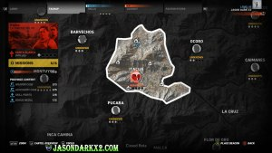 Ghost Recon Wildlands Beta map