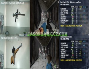 Payday 2: Gage Historical pack secondary weapons