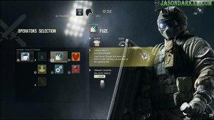 Rainbow Six Siege Fuze operatore