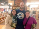 Myself and my close friends Laura and Cary, who are both fine authors themselves and members of my writing group. Petaluma, CA.