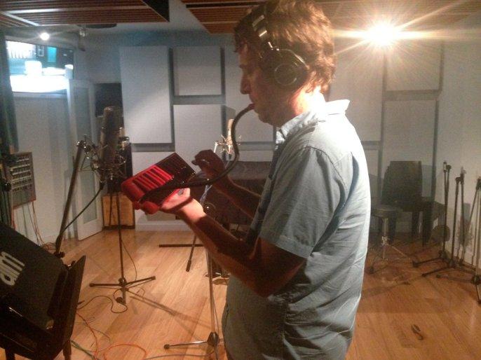 "Stu West - Melodica for Sam Joole's ""Shapeshifting"""