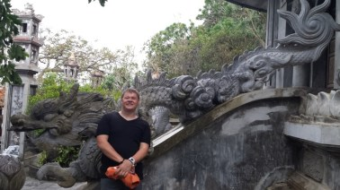 Me with a Dragon