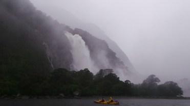 Insanely powerful waterfall