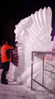 Snow Sculptures (3)