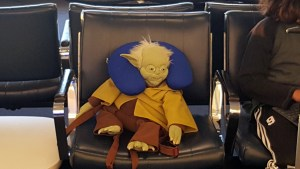 Yoda's Done Traveling