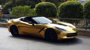 Mr. Gold's Car