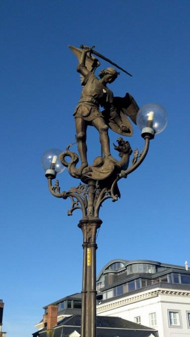 St. Michael's Bridge Statue