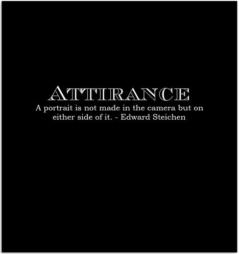 Attirance photography book