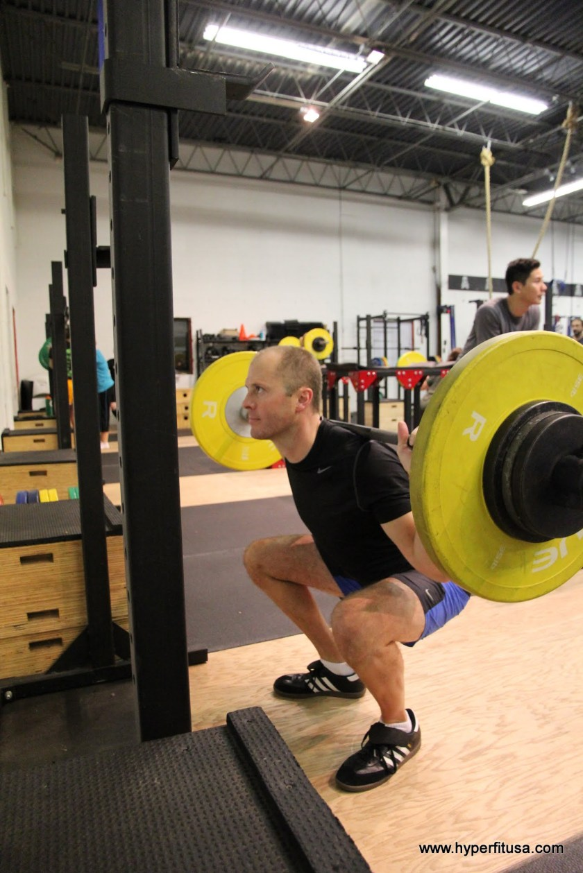 CrossFit Back Squat Lee