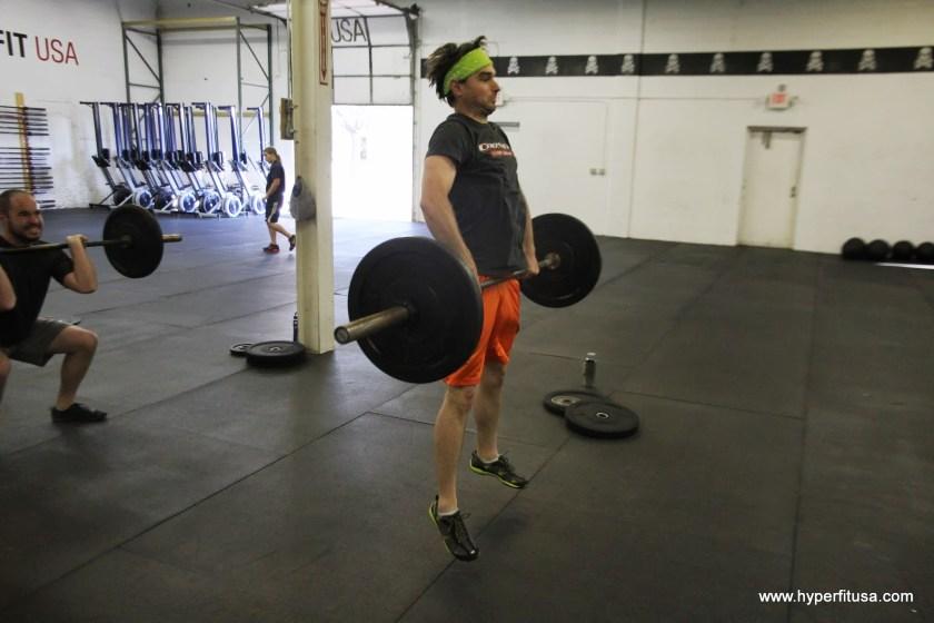 Jason Harper Clean HyperFit CrossFit Ann Arbor