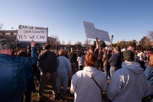 National TEA Party Protest, Fond du Lac, WI 2009