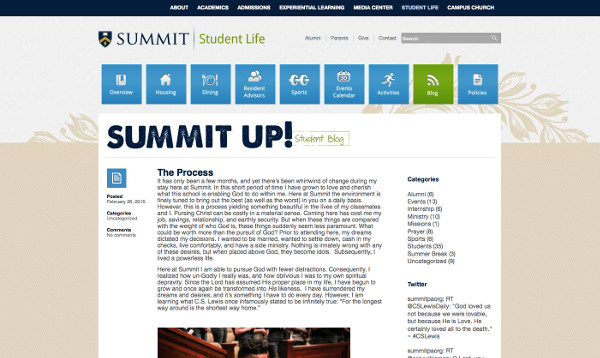 summitpa.org student blog