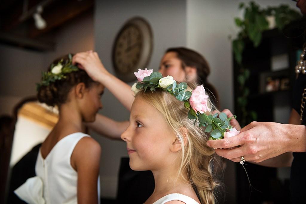 Flowergirls Flowers Crowns