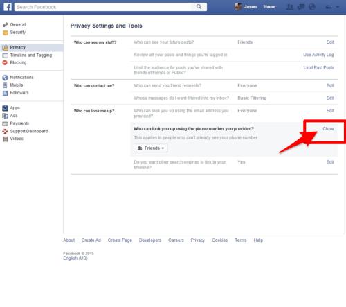facebook phone privacy 5