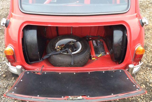 Mk1 Mini Cooper Historic Rally