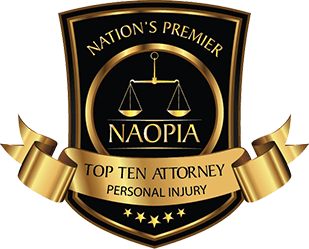 NAOPIA: Top Ten Attorney, Personal Injury.