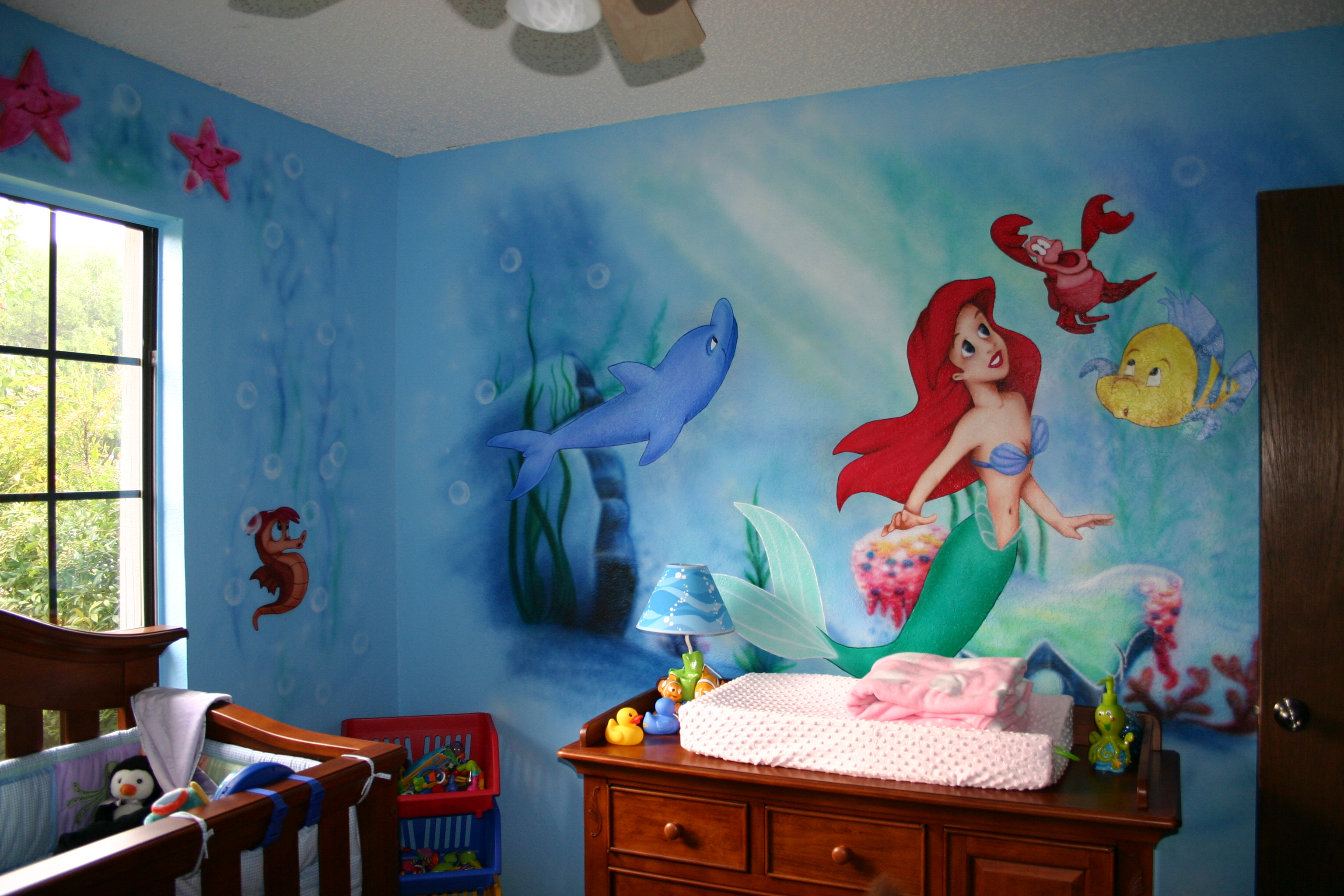 The Little Mermaid Bedroom Decor