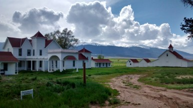 Ranch built by family from Maine, 1860s