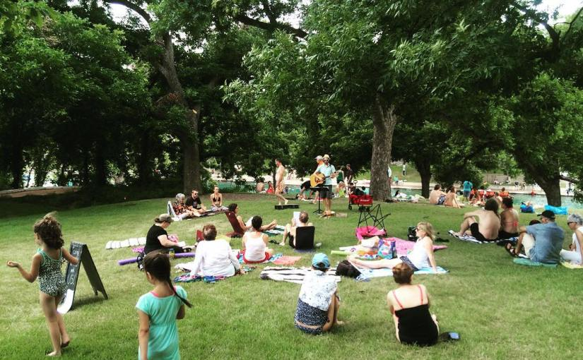 July 2016 Singalong at Barton Springs