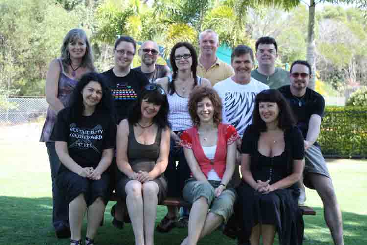 edge writers group, bribie island, 2009