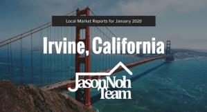 2020년 1월 얼바인 부동산 시장 분석 및 전망, Irvine Market Reports for January 2020