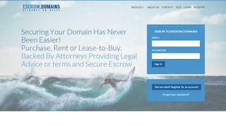 Escrow.Domains