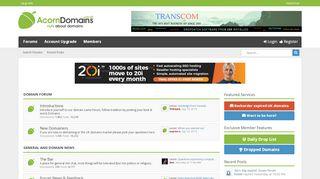 Acorn Domains