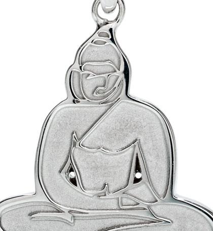 Buddha sterling silver pendant Jason Oliva