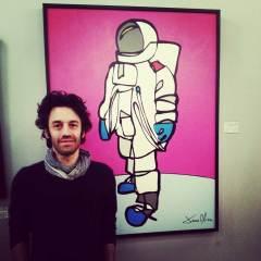 Jason Oliva Tribeca NYC 2013 Astronaut