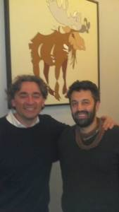 Artist Wine Labels Luca Carrado of Vietti WINE and Jason Oliva