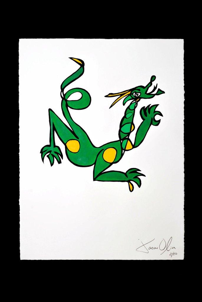 Dragon jason Oliva art Painting